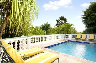 Brilliant 3 Bedroom Hillside Villa overlooking Orient Bay - Image 1 - Orient Bay - rentals