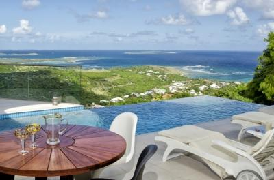 Modern 2 Bedroom Villa with Ocean View in Oyster Pond - Image 1 - Oyster Pond - rentals