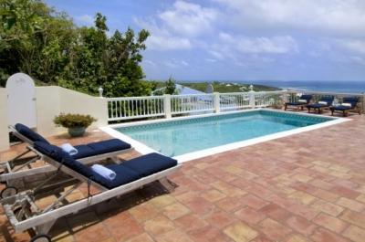 Lovely 3 Bedroom Villa overlooking Oyster Pond & Dawn Beach - Image 1 - Dawn Beach - rentals