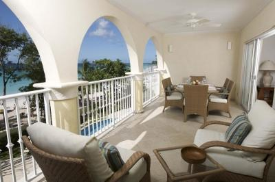 Lovely 3 Bedroom Oceanfront Condo in Christ Church - Image 1 - Christ Church - rentals