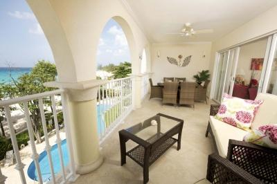 Luxury 3 Bedroom Beachfront Apartment in Christ Church - Image 1 - Christ Church - rentals