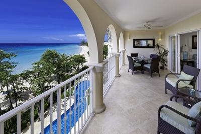Contemporary 3 Bedroom Beachfront Condo in Christ Church - Image 1 - Christ Church - rentals