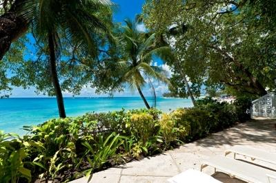 Relaxed 2 Bedroom Beachfront House in Mullins Bay - Image 1 - Gibbes - rentals