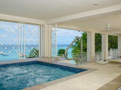 Classy 4 Bedroom Beachfront Apartment in Paynes Bay - Image 1 - Paynes Bay - rentals