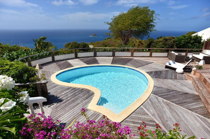 Beautiful 3 Bedroom Villa with Ocean View in Colombier - Image 1 - Anse des Flamands - rentals