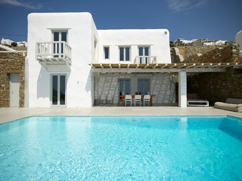 villa overview - Amazing villa in Houlakia, Mykonos - Mykonos - rentals