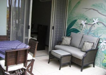 back patio - Townhouse near the beach in Bucerias, Mex - Bucerias - rentals