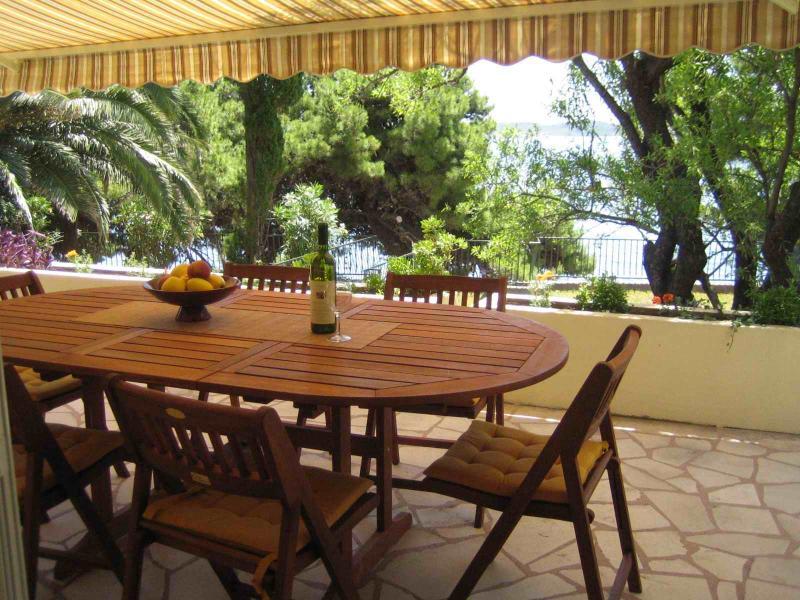 Front terrace - NONOS HOUSE - Orebic - rentals