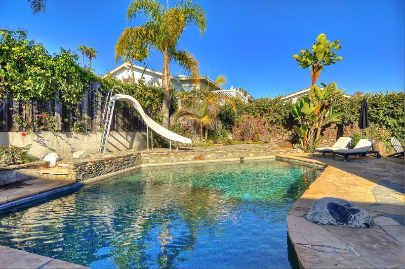 Heater Pool with Slide - Private Beach Golf Boating Ocean Views Shopping - Newport Beach - rentals