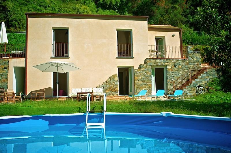 Casa Delia, Levanto Liguria - NORTHITALY VILLAS Vacation Villa Rentals - New modern and cosy house with private pool - Levanto - rentals
