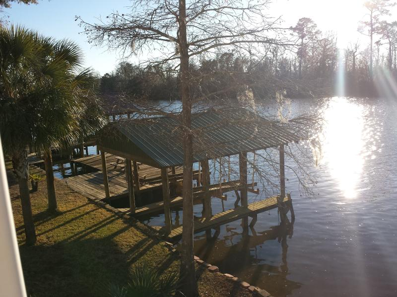 View from top Deck - Fish, Boat, BBQ, Sit back, Relax and Enjoy! - Moss Point - rentals