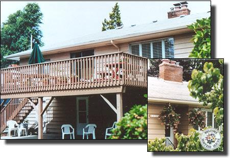 Entrance on ground level - Hostess House Bed & Breakfast - Portland - rentals
