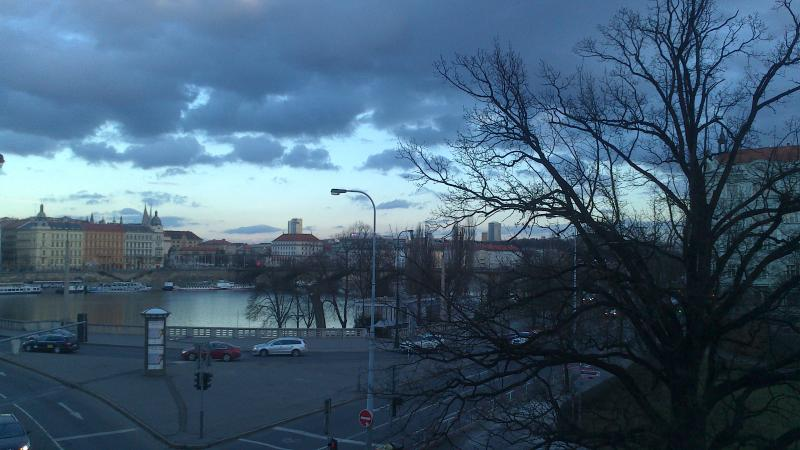 Park and river view from balcony - Park and River View Spacious 2 bd 2 bath, sleeps 7 - Prague - rentals