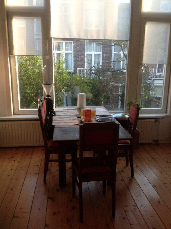 dining area - furnished apt near beach and shops - The Hague - rentals