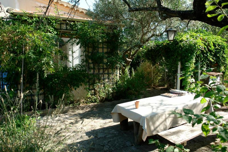 Garden - Charming and Affordable 2 Bedroom Saint Remy House - Saint-Remy-de-Provence - rentals
