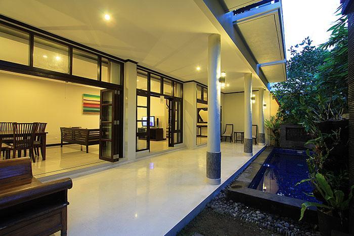 Pool view - 3 Bedroom Budget Private Villa Seminyak - Seminyak - rentals