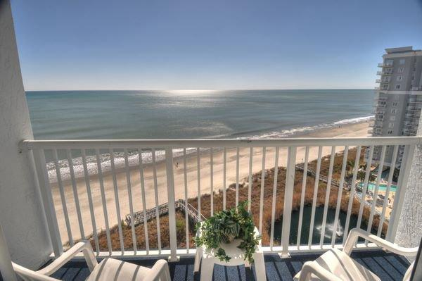Balcony View - Sea Watch N. 1 Bedroom Vacation Home by the Ocean at Myrtle Beach - Myrtle Beach - rentals