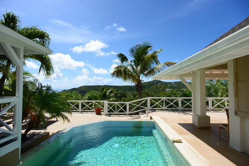 3 Bedroom Villa with Panoramic View of the Ocean in Saint Jean - Image 1 - Saint Jean - rentals