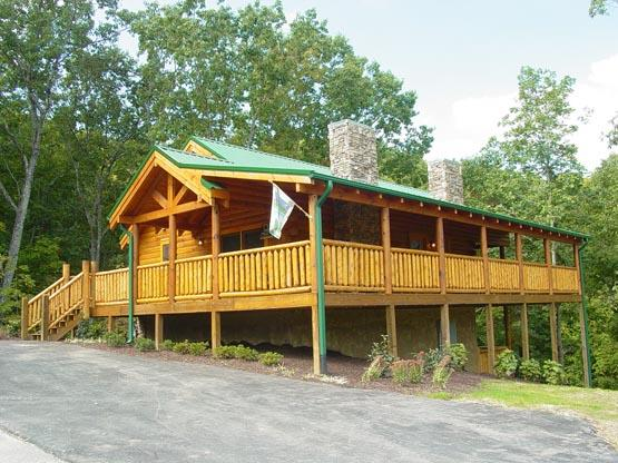 ERN826 - COZY CABIN - Image 1 - Pigeon Forge - rentals