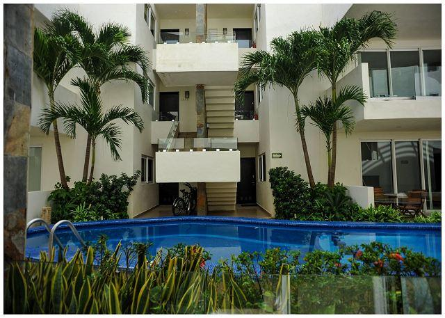 Five Star Condo Best Location Reasonably Price on MAMITAS BEACH & 5TH AVENUE - Image 1 - Playa del Carmen - rentals