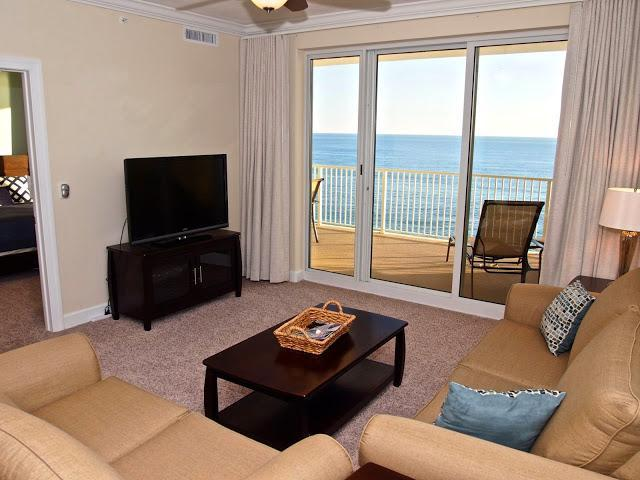 Brand New Gulf Front 2 Bedroom at Ocean Reef - Image 1 - Panama City Beach - rentals