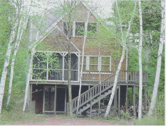 Side of House facing Dock - Immaculate Waterfront House on Lake Winnipesaukee - Moultonborough - rentals