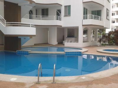 Pool, kids pool, & jacuzzi/Piscina, piscina de niños y yacuzi - Duplex Apartment Tonsupa Beach w partial Oceanview - Esmeraldas - rentals