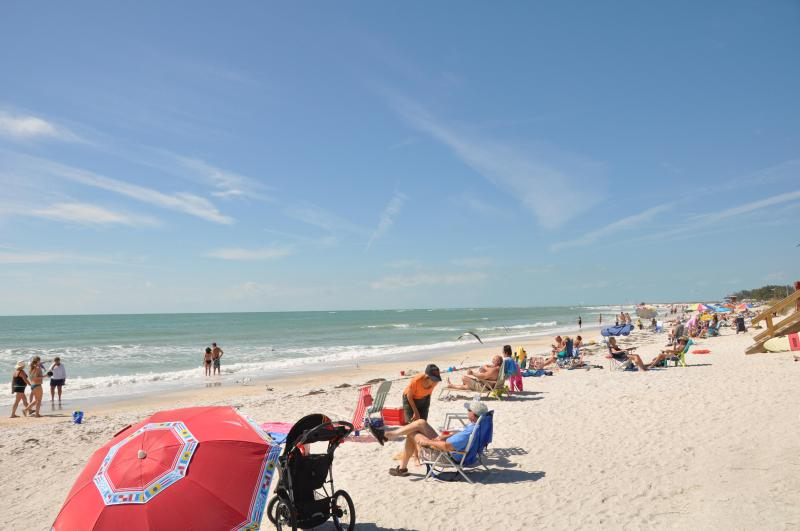Lido Beach a couple of blocks from the unit - Deluxe Bungalow on Lido Key by St. Armands - Sarasota - rentals