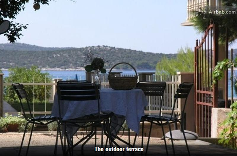 yard with a seaview - A yard with sea view - Zaboric - rentals
