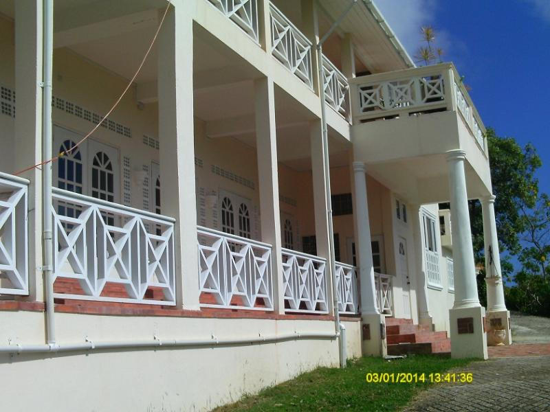 Front Views Towards Golf Cousre - Studio Apartment On The Park For Rent - Gros Islet - rentals