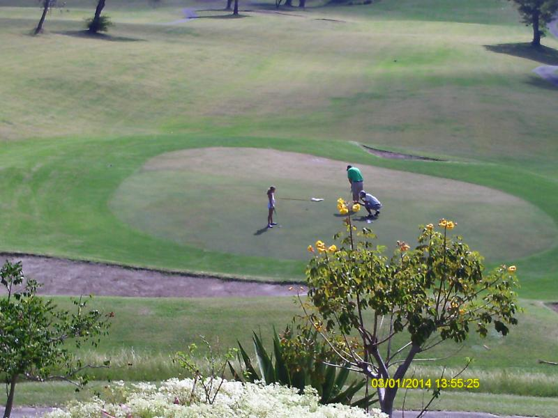 Golf Cousre Front View - Studio Apartment On The Park For Rent - Gros Islet - rentals