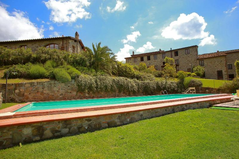 Beautiful Casale on the Tuscan hills - Image 1 - San Pietro a Marcigliano - rentals