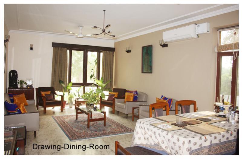 Living Room - Chateau 39 B&B Delhi - New Delhi - rentals