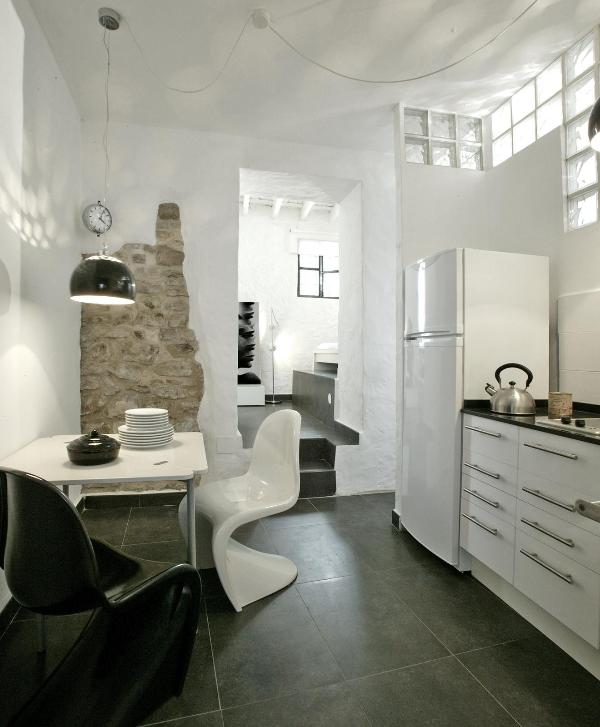 kitchen - Kalao suite with garden in the historic center - Tarifa - rentals