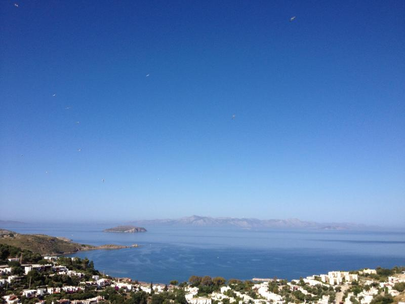 View from the balcony - Beautiful apartment with panoramic sea views - Bodrum - rentals