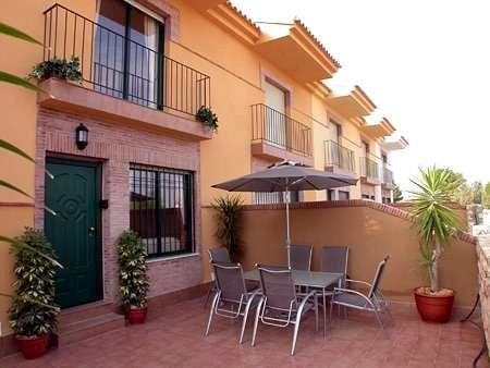 Front view - Murcia Spain - Luxury Townhouse Air Con, Free Wi-fi, Pool and in walking distance to the beach. - Santiago de la Ribera - rentals