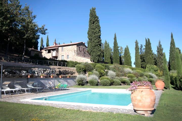 Villa Elena, medieval jewel  nestled in a timeless corner of Tuscany. - Image 1 - Cetona - rentals