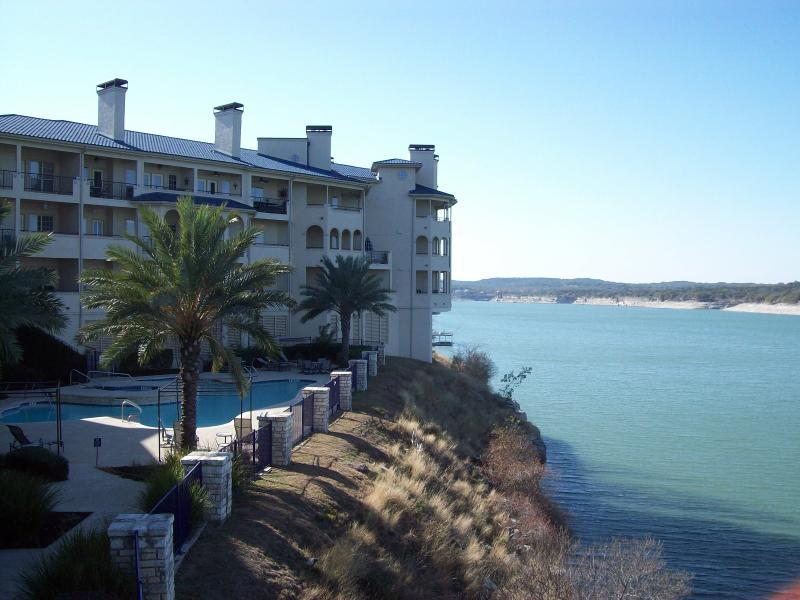 Here is the pool closest to your studio. - Cozy Villa for Two, Lake Travis - Lago Vista, TX - Lago Vista - rentals