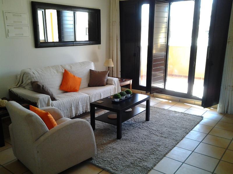 Living Room - Hacienda del Alamo Spanish Village Apartment - Cuevas de Reyllo - rentals