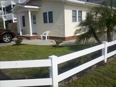 Outside View - Cherry Grove Beach Bungalow #1- 100 Yards to Beach - North Myrtle Beach - rentals