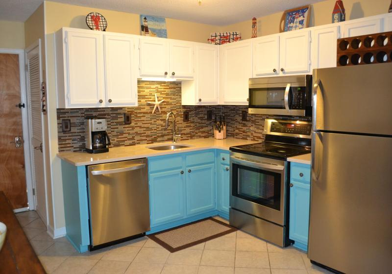 Completely updated kitchen with all new appliances and quartz countertops - Beach Bum Hideaway! - Hilton Head - rentals