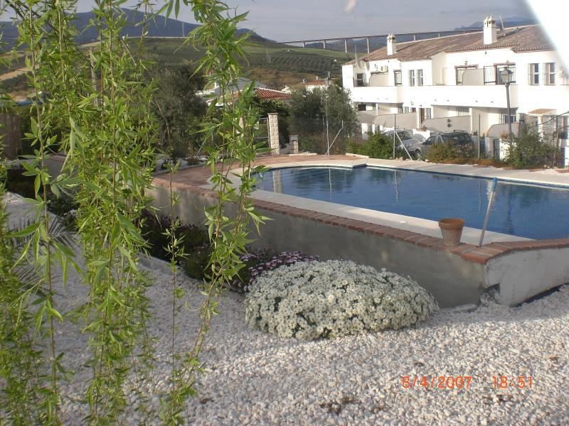 View of the 5 houses & pool - Home for Country Lovers/Inland Spain with Large Pool & Gardens - Private Parking - Alora - rentals
