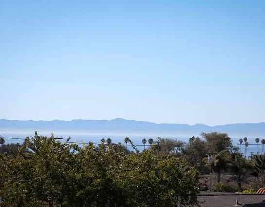 View from the Balcony - $230/$399 Casitas Oceano - The Upper Bungalow - Santa Barbara - rentals