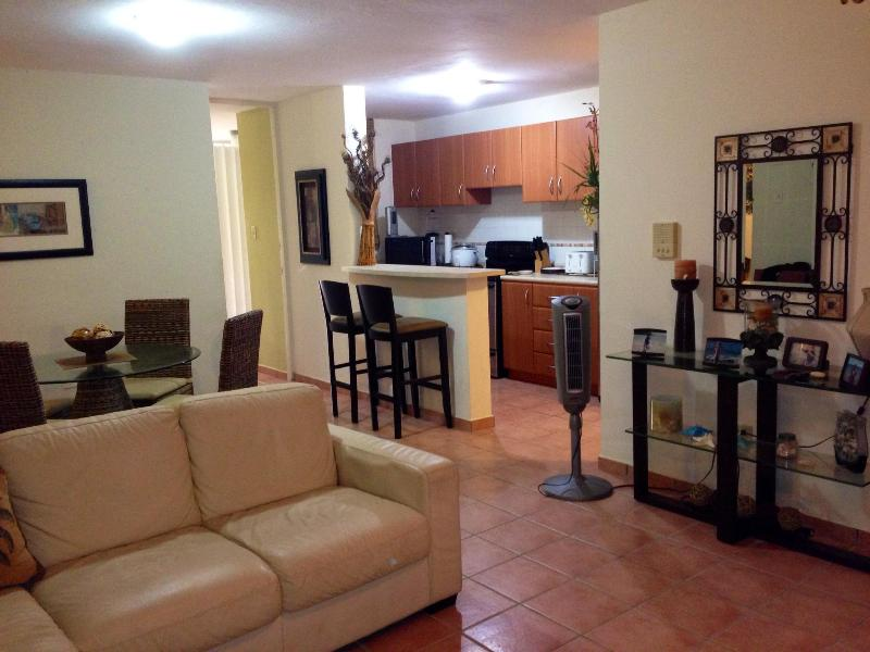 Spacious Living/Dining Rooms - Villas del Mar Beach Resort-  Affordable Getaway - Loiza - rentals