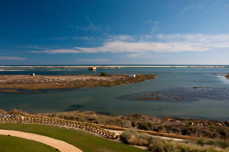 Panoramic view from the apartment - Fabulous penthouse with panoramic frontal sea view - Fuzeta - rentals