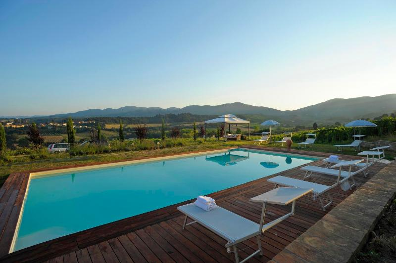 Pool - Vacation rental in Chianti Tuscany close Florence - Leccio - rentals