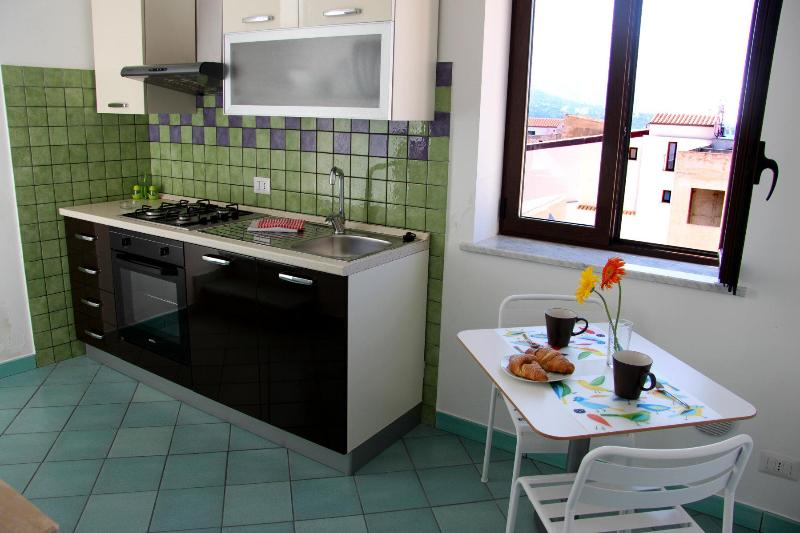 Two-rooms apartment with terrace in the old town - Image 1 - Cefalu - rentals