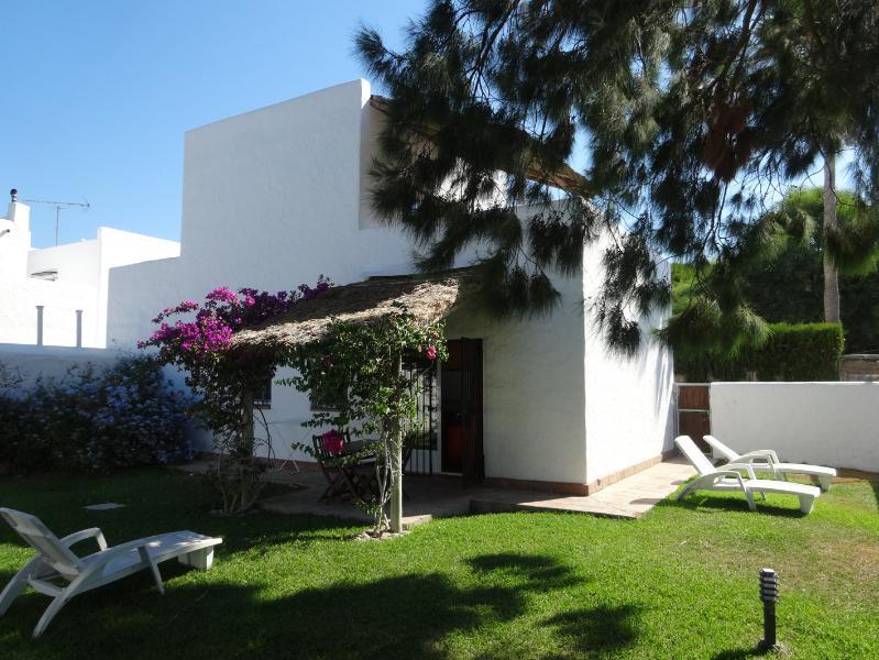Private walled garden - Sea Dream Spain com . Caños de Meca - Los Canos de Meca - rentals