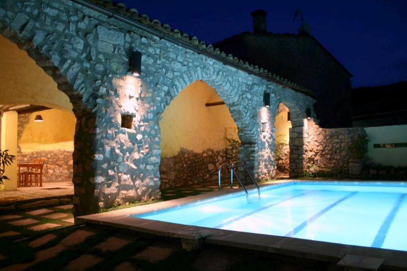 Magnificent medieval villa with 9 bedrooms for 22 guests, tucked away in the hills of Catalonia - Image 1 - La Llacuna - rentals