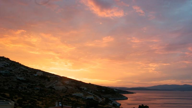 Sunrise over the Aegean Sea - Sophisticated Aegean-Sea Living Near Athens - Marathon - rentals